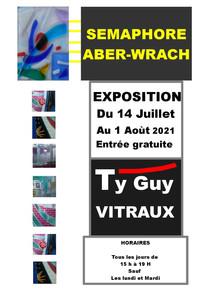 à Landéda - Exposition de créations en verre - du 14 juillet au 1er août 2021