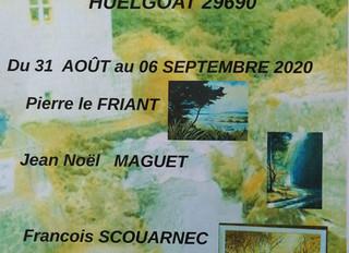 à Huelgoat - Expo de peintures - du 30 août au 6 septembre 2020