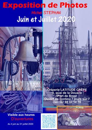à BREST - Exposition de Photos - au Port de commerce - juin et juillet 2020