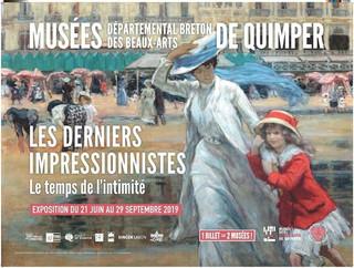 à Quimper - aux musées - du 21 juin au 29 septembre 2019