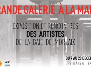 à Morlaix - Exposition et rencontres des Artistes - du 7 au 20 décembre 2019