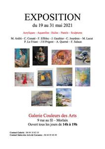 à Morlaix - Exposition d'Arts - du 19  au 31 mai 2021
