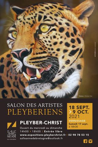 à Pleyber-Christ - Salon des Artistes - du 18 septembre au 9 octobre 2021