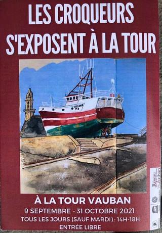 à Camaret sur mer - Exposition de peintures - du 9 septembre au 31 octobre 2021