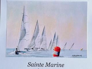 à Sainte-Marine - Exposition de peintures - 27 août au 2 septembre 2020