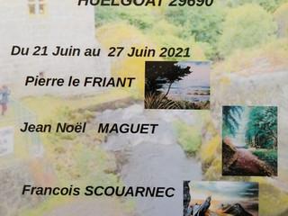 à Huelgoat - Exposition au Moulin du Chaos -  du 21 au 27 juin 2021