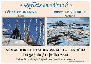 à Landéda - Exposition de photos et peintures - du 30 juin au 11 juillet 2021