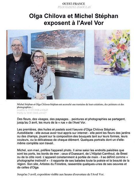 Bel article de Ouest-France