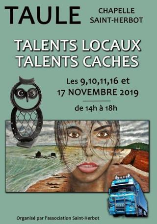 à Taulé - Exposition Chapelle Saint-Herbot - les 9, 10, 11, 16, et 17 novembre 2019