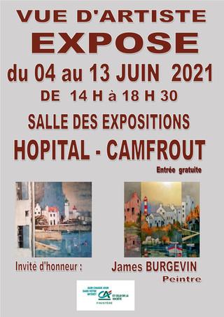 à l'Hôpital-Camfrout - Exposition du 4 au 13 juin 2021