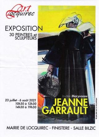 à Locquirec - Exposition de peintures et de sculptures - du 23 juillet au 6 août 2021