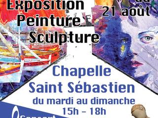 à Locmaria-Plouzané - Exposition dans la chapelle - du 20 juillet au 21 août 2021