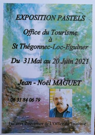 à Saint-Thégonnec Loc-Eguiner - Expo de Pastels - du 31 mai au 20 juin 2021