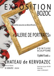 à Saint-Goazec - Exposition de peintures et de sculptures - du 15 juillet au 15 août 2021