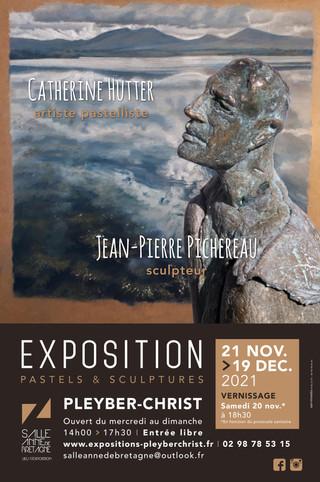 à Pleyber-Christ - Exposition de Pastel et de Sculptures - du 21 novembre au 19 décembre 2021