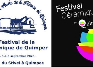 à Quimper - Festival de la Céramique - les 5 et 6 septembre 2020