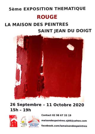 à Saint-Jean-du-Doigt - 5ème Exposition Thématique - du 26 septembre au 11 Octobre 2020