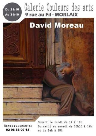 à Morlaix - Exposition David MOREAU - du 21 au 31 octobre 2019