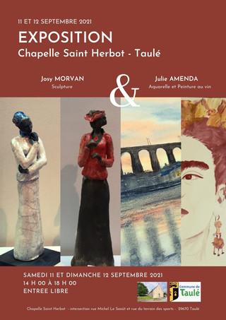 à Taulé - Exposition de Sculpture et de peinture - les 11 et 12 septembre 2021