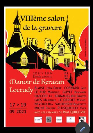 à Loctudy - VIIIème Salon de la Gravure - du 17 au 19 septembre 2021