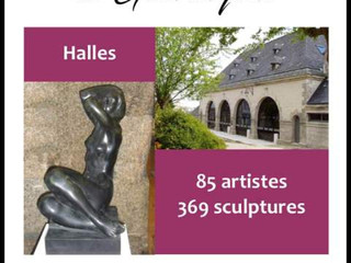 A Guerlesquin - 4 ème salon de sculpture - du 13 octobreau 30 novembre 2019