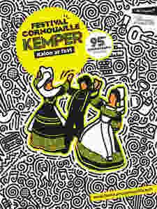 Affiche du Festival de Cornouaille 2018 à Quimper