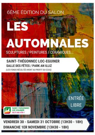 A Saint-Thégonnec Loc-Eguiner - Les Automnales - du 30 octobre au 1er Novembre 2020