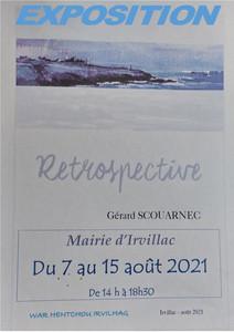à Irvillac - Exposition de peintures - du 7 au 15 août 2021