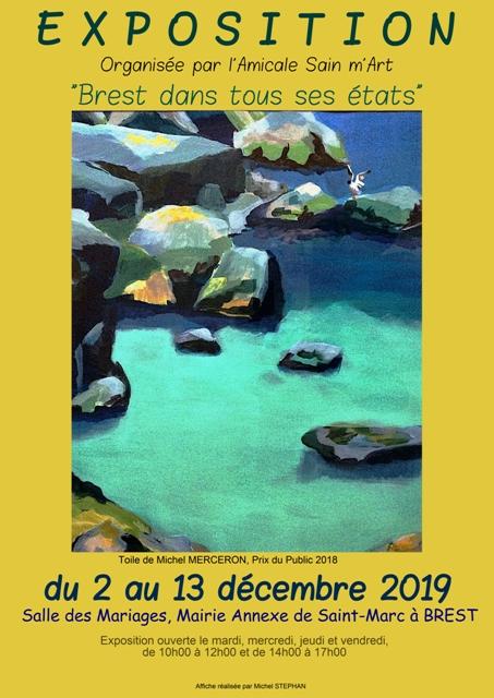 Matrice Affiche Sain m'Art 2019 (1)