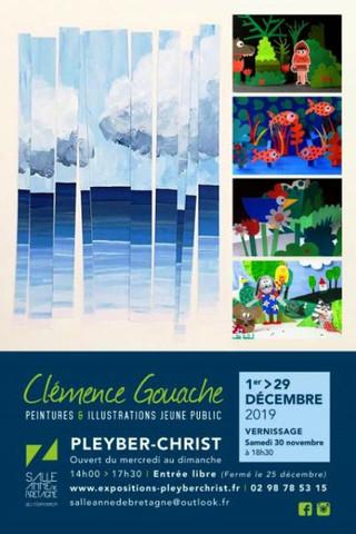 à Pleyber-Christ - Exposition - du 1er au 29 décembre 2019