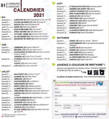 Plusieurs lieux en Bretagne - Couleurs de Bretagne - saison 2021 de mai à septembre 2021