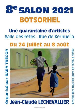 à Botsorhel - 8ème Salon d'Art - du 24 juillet au 8 août 2021