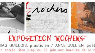 """à Plouescat - Exposition """"Rochers"""" - du 17 mai au 26 juin 2021"""