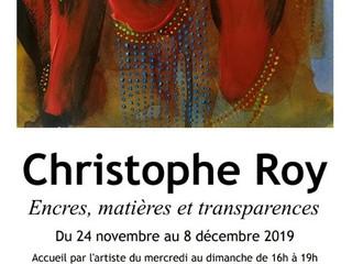 à Pont l'Abbé - Exposition Christophe ROY - du 24 novembre au 8 décembre 2019