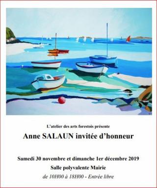 à la Forest-Landerneau - Week-end des Arts - samedi 30 novembre et dimanche 1er Décembre 2019