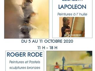 à Clohars-Carnoët - Exposition de Peintures - du 5 au 11 octobre 2020
