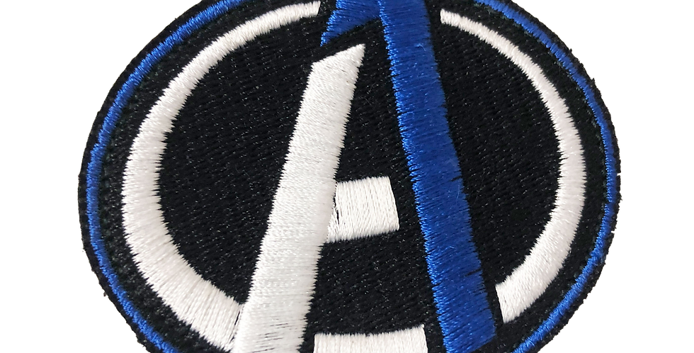 A-1 Embroidered Patch w/ Velcro Back