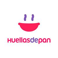 Logo de huellas de pan