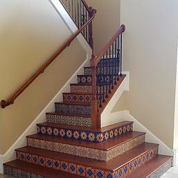 Stair Tiled Toe Kicks
