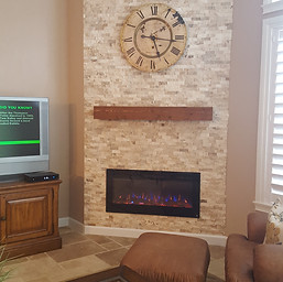After Fireplace & Wall Unit