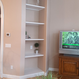 After #2 Wall Unit & Fireplace