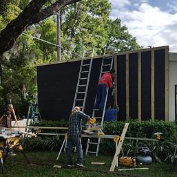 Rebuild Exterior Wall Treatment