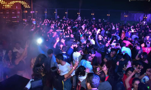 people partying