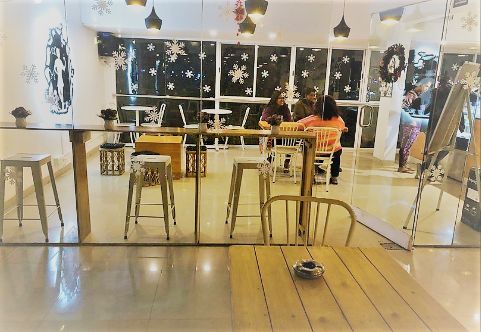 cute cafe interior