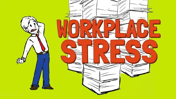 workplace stress carton