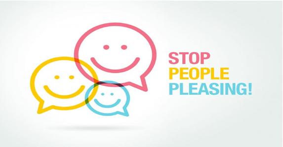 stop pleasing everyone poster
