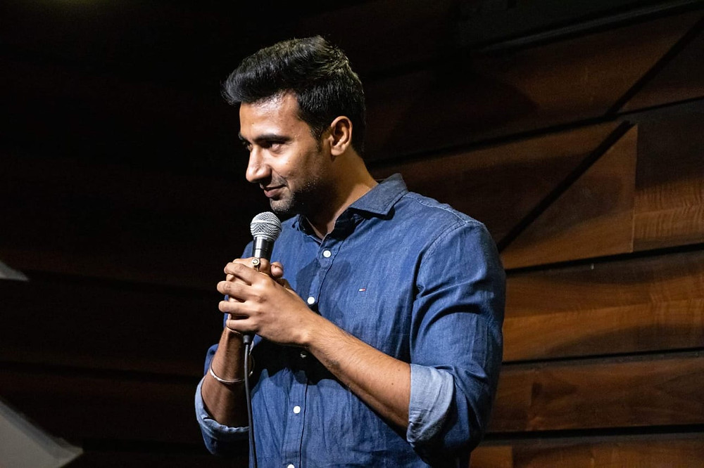 indian stand up comedian