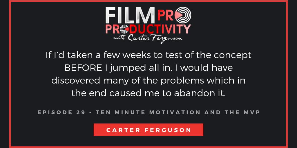 Filmproproductivity
