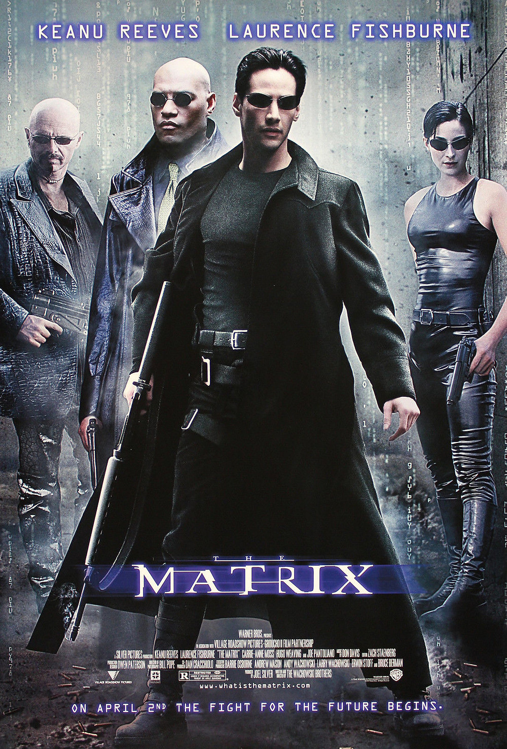 The Matrix One Sheet Poster fights