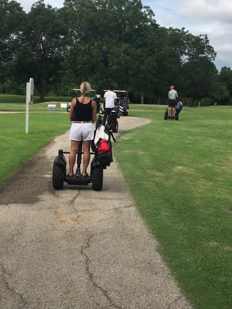 Transport Yourself Austin Segway Golf